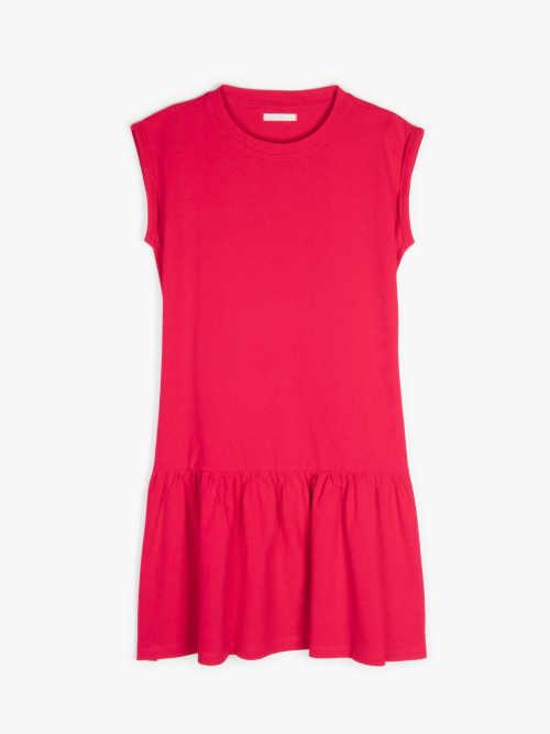 šaty bavlněné bez rukávů