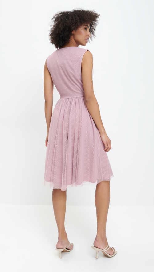 šaty na širší ramínka