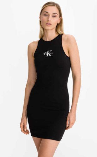 Šaty sportovního střihu Calvin Klein v krátké sexy délce