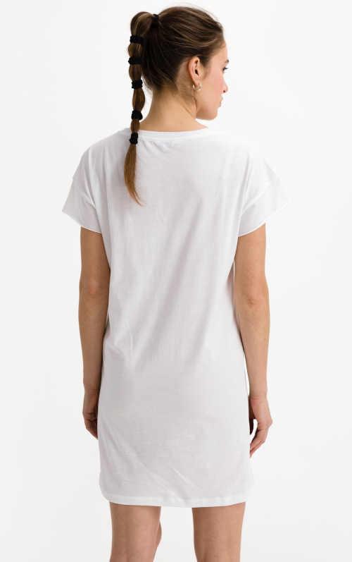 krátké sportovní bavlněné šaty CK