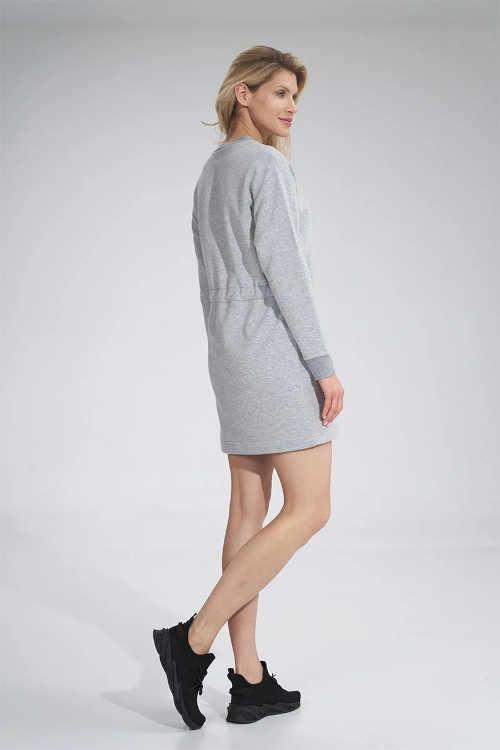 krátké teplákové šaty