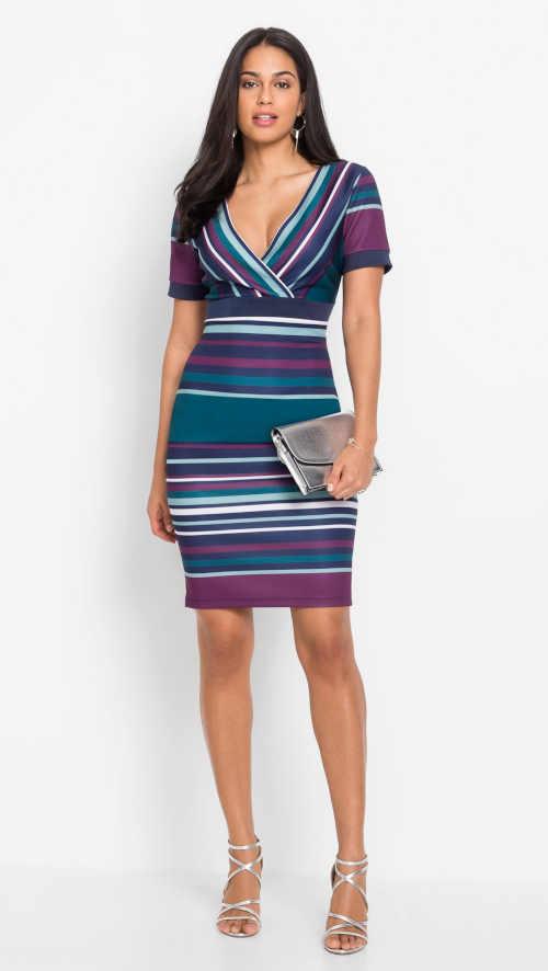 moderní šaty vzorované Bonprix