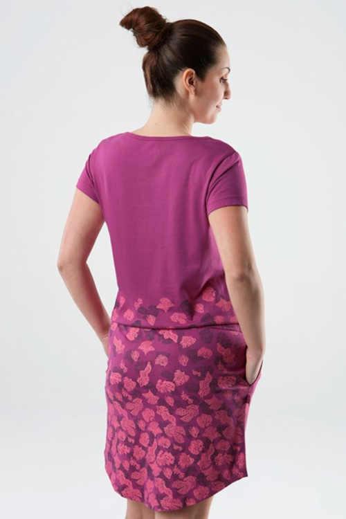šaty s potiskem Astratex