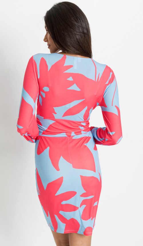 vzorované krátké šaty Bonprix
