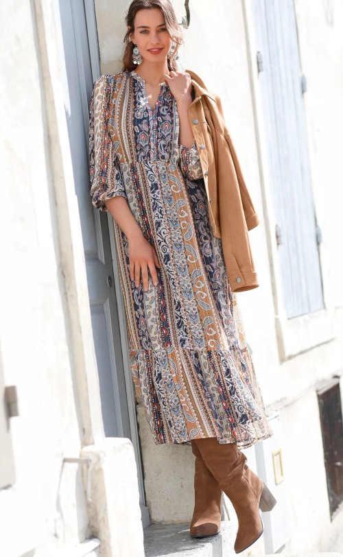 dámské dlouhé šaty Blancheporte