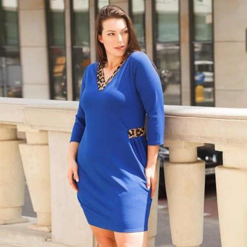 modré krátké dámské šaty