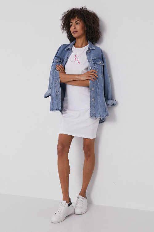 šaty CK z bavlny
