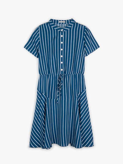 šaty na knoflíkovou légu