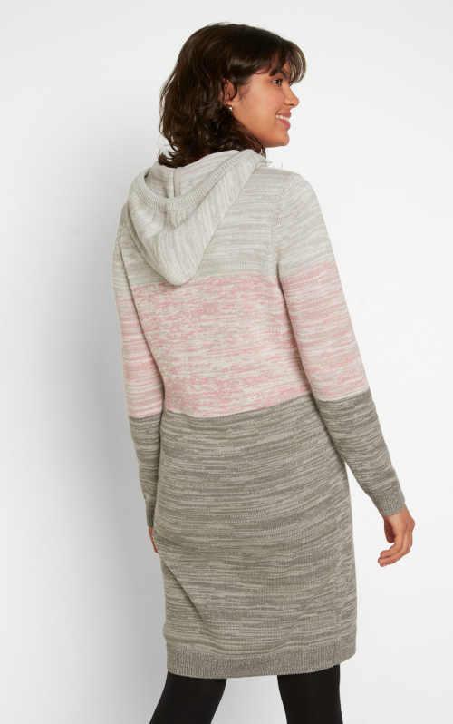 šaty s kapucí Bonprix
