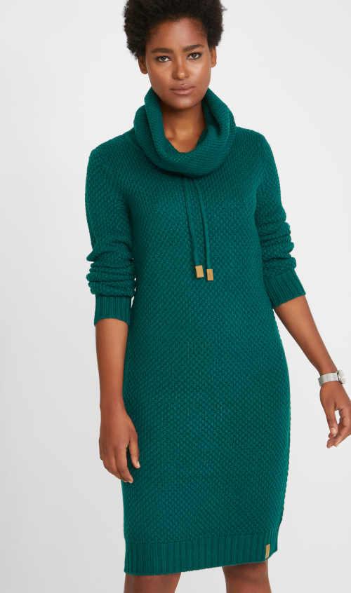 stylové pletené šaty Bonprix